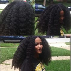 You will quickly learn. HOW TO make it at home yourself and enjoy the hair growth benefits. How to AVOID smelling all funky when using it, lol. To ENJOY less hair shedding after treatment. Pelo Natural, Long Natural Hair, Natural Hair Growth, Braid Out Natural Hair, Natural Hair Blowout, Black Hair Growth, My Hairstyle, Afro Hairstyles, Ethnic Hairstyles