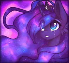 For PWhateverer art by me character belongs to Hasbro COMM : PWhateverer Mlp My Little Pony, My Little Pony Friendship, Celestia And Luna, Pony Style, My Little Pony Drawing, Little Poni, Nightmare Moon, Mlp Fan Art, Moon Princess