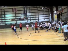 2nd Pass Shooting Drill With Danny Green - San Antonio Basketball Camp - YouTube