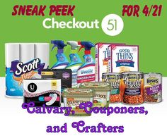 Checkout51 Sneak Peek for 4-21_Calvary Couponers and Crafters