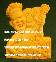 cheesy!