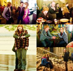behind the scenes pictures of Rupert and Emma