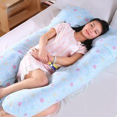 Click Image to Buy!> High Quality Maternity Body Pillow Comfy U-Shape Pregnant Women Side Sleepers Pillow Soft Belly Contoured Nursing Pillow *** Belly, Side Sleeper Pillow, Pregnancy Pillow, Nursing Pillow, Nursery Bedding, Baby Bedding, Cute Asian Girls, Baby Shop, Mom And Baby