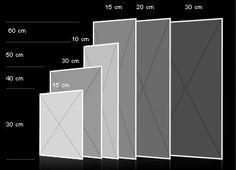 formats carrés / cuir au carré