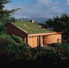 Oregon beach house made out of recycled materials, and which makes more energy than it consumes.