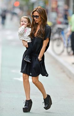 Victoria Beckham is the most chic mom
