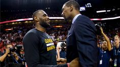 Cavs' LeBron James voices support for 'my brother' Chris Bosh