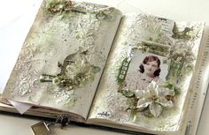 Scraps of Elegance: Altered Book: Women of Substance - Fifth Entry