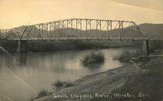 South Umpqua River near Winston, Oregon, where my roots run deep.