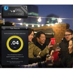 Breathometer™—The Smart Breathalyzer