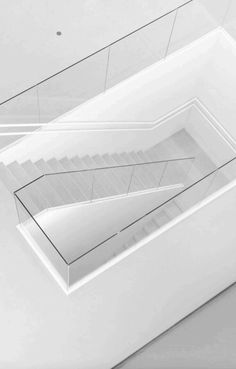 Architecture, Art and Design Interior Staircase, Staircase Design, Stair Design, Architecture Design, Escalier Design, White Stairs, Stair Handrail, Banisters, Railings