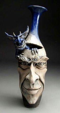 #migraine Mitchell Grafton Pottery