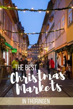 Discover the best Christmas Markets in Thüringen, Germany
