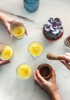 This and variations of this recipe will be my version of flu shot for this year! Nutrition, Herbal Medicine, Creative Food, Healthy Drinks, Food Hacks, Natural Health, Original Recipe, Herbalism, Honey