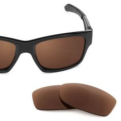 1c00dcb991f02 Revant Replacement Lenses for Oakley Jupiter Squared - Polarized Stealth Black  Replacement Lenses, Color Bronze
