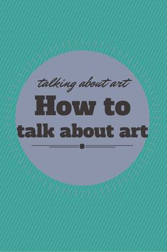 Click for a free download of a critique sheet to use when talking to students about art.