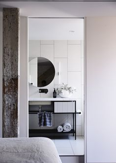 Here we showcase a a collection of perfectly minimal interior design examples for you to use as inspiration. Check out the previous post in the series: 27 Interior Design Examples, Australian Interior Design, Interior Design Awards, Bathroom Interior Design, Bathroom Design Inspiration, Interior Inspiration, Retro Industrial, Suites, Beautiful Bathrooms