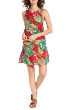 Free shipping and returns on Roxy Cuba Print Shift Dress at Nordstrom.com. A lush floral print brings the wearer to the beaches of Havana—even if her feet are firmly planted in everyday urban life.