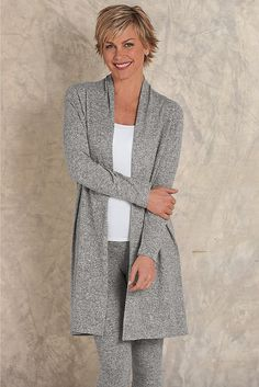 Cozy Cabin Cardi - Get your Zen on in supreme softness and comfort | Soft Surroundings