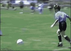 Omg this is epicly hilarious xD Im dying!!!! So me when im playing soccer xD