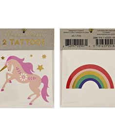 Kids Temporary Tattoos - Little and Fierce
