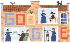 June 9th, 2016 - UK Elizabeth Garrett Anderson's 180th Birthday https://www.google.co.uk/logos/doodles/2016/elizabeth-garrett-andersons-180th-birthday-5714824613855232-hp.jpg (search page mini doodle -quite different-: https://www.google.co.uk/logos/doodles/2016/elizabeth-garrett-andersons-180th-birthday-5714824613855232-res.png)