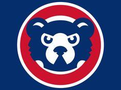 chicago cubs logos | Chicago Cubs Logo Clip Art