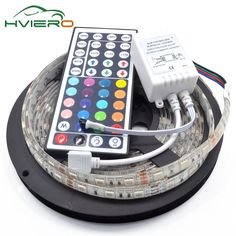 5M 300Leds RGB LED Strip 5050 Non-waterproof waterproof 60led/m Flexible LED Light  DC 12V 44Key IR Remote Controller