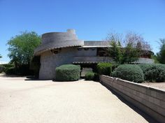 David & Gladys Wright Residence. 1950. Phoenix Arizona. Usonian. Frank Lloyd Wright.