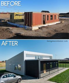 The container house, built to meet all the needs of a family, has 129 square meters (1390 square feet) of living space. #shippingcontainerhomes #shippingcontainercabin #containerhouse #containerhousedesign #containerbuildings #containercabin #luxuryhomes #containerhomes #housedesign #beforeandafterhome Tiny Container House, Building A Container Home, Recycled Brick, Recycled Materials, Cabana, Shipping Container Home Designs, Shipping Containers, Usa Living, Container Architecture