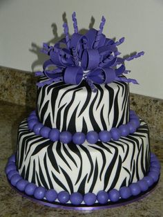 Image detail for -Zebra Birthday Cakes For Girls Pictures, Special Zebra Birthday ...