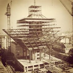 Slovensky Rozhlas Bratislava, Radios, Homeland, Nostalgia, Arch, Construction, Memories, Landscape, House