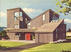 Shed Style Sea Ranch Inspired Architecture Google Search 70 S Contemporary Pinterest House And Roof