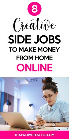 Check out these best creative home based business ideas if you're looking to make money on the side from home. These are side hustles you can start today. You At Work, Going To Work, Earn Money From Home, Earn Money Online, Night Jobs, Best Online Jobs, Job Resume, Make Money Now, How To Become Rich
