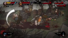 Wulverblade Switch Trailer This arcade-style beat 'em up is debuting first on Switch this September. August 30 2017 at 06:30PM  https://www.youtube.com/user/ScottDogGaming