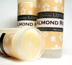 Lotion Bar Almond Royale Shea Cocoa butter solid by CoquetteBath, $7.50