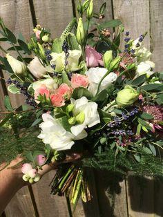 September wedding bouquet September Wedding Flowers, Seasonal Flowers, Wedding Bouquets, Floral Wreath, Wreaths, Seasons, Decor, Floral Crown, Decoration