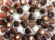 decoração com chocolates - Pesquisa Google