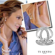 Have you seen our stunning new #silver #jewellery range all the way from #Milan? Check out the beautiful pieces from @tisentomilano available now!