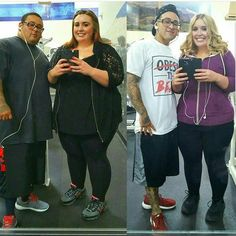 We started our journey in April of 2015 through diet and exercise we've lost a combined total of 270 pounds and counting! @jordanandmattfitfromfat __________________________ Follow Link on my Bio @prime8nutritions click to discover our FREE Report for transform your body!! @prime8nutritions . Follow @prime8nutritions for inspiring stories tips humor and a possible feature . . Tag someone share and motivate! #beforeandafter #bodybuilding #burnfat #cardio #diet #eatclean #exercise #fit…
