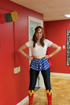 Halloween Party 2012: ITA Advisor, Cassie, as Wonder Woman!