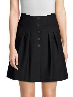 d5007d20c 2016 Spring Autumn High Waist Knitted Skirts Women Pleated mini ...