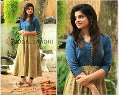 Latest kurti designs for stitching - Simple Craft Ideas Chudidhar Designs, Chudi Neck Designs, Kurti Neck Designs, Kurti Designs Party Wear, Dress Neck Designs, Salwar Designs, Latest Kurti Designs, Pattern Designs, Salwar Pattern