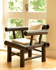 Bamboo Furniture – An Environmentally Friendly and Inexpensive Option Cane Furniture, Bamboo Furniture, Living Furniture, Furniture Design, Bamboo Architecture, Interior Architecture, Interior Design, Bamboo Art, Bamboo Crafts