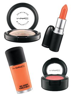 Hayley Williams's MAC Collection- Coming in April '13... I'm excited for this, I'm hoping I can pull off the lipstick :)