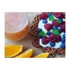 Proteinvafler Waffles, Pudding, Breakfast, Desserts, Food, Blogging, Morning Coffee, Tailgate Desserts, Deserts