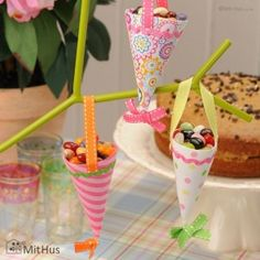 Easter branches decorations
