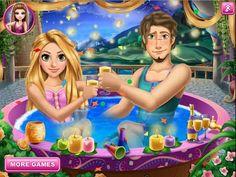 Tangled Rapunzel Jacuzzi Celebration - Disney Princess Rapunzel Games