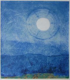 Happy Moon by Max Ernst, 1970