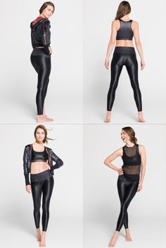 We all love to get out of town sometimes and having comfy leggings whether in a car or on a plane is a must for a short city break…and who says you can't work out while traveling? Short City Breaks, Black Leggings, Plane, Leather Pants, Traveling, Comfy, Car, Fashion, Leather Jogger Pants
